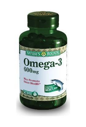 Nature's Omega 3 600 mg 30 Softgel