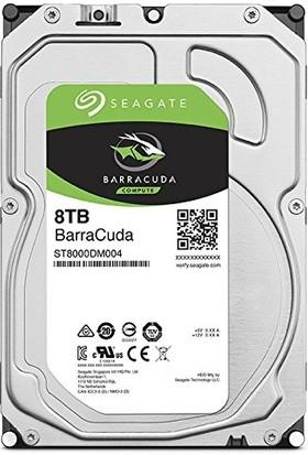 "Seagate BarraCuda 8TB 5400RPM 256MB Cache SATA 6.0GB/s 3.5"" Internal Hard Drive Bare Drive ST8000DM004"