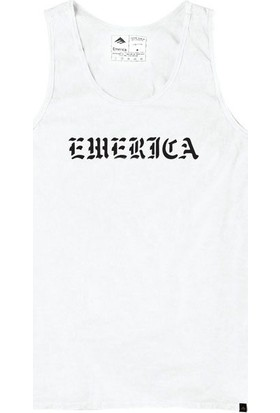 Emerica Mongo Tank Top White Atlet