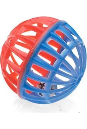 Polo Zilli Kedi Oyun Topu Renkli 4 Cm