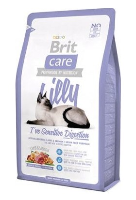 Brit Care Lilly Sensitive Hassas Tahılsız Kedi Maması 2 Kg