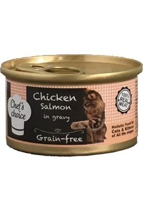 Brit Chefs Choice Gravy Tavuklu Somonlu Tahılsız Kedi Yaş Mama 80 Gr