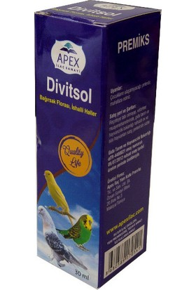 Apex Divitsol Bağırsak Flora Düzenleyici İshal İçin 30 Ml