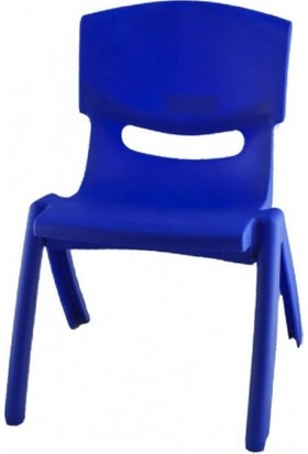 Irak Plastik Jumbo Çocuk Sandalye No:2 Büyük Mavi