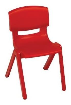 Irak Plastik Jumbo Çocuk Sandalye No:2 Büyük Kırmızı