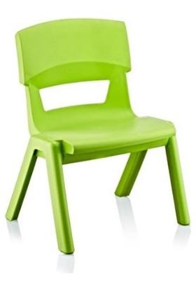 Irak Plastik Jumbo Çocuk Sandalye No1 Küçük Yeşil