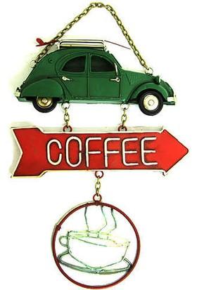 Katarsis Dekoratif Metal Kapı Yazısı Araba C0208