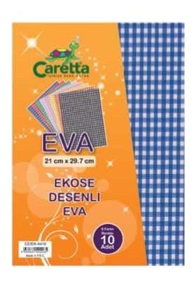 Caretta Eva A4 Kumaş Desenli 10Lu Ceıek-A410