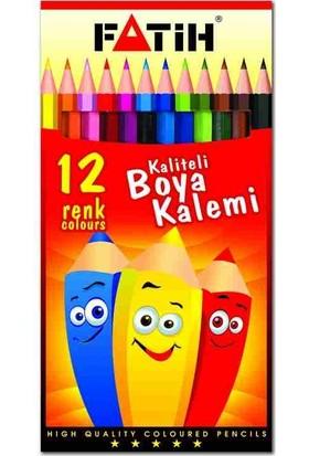 Fatih Kuruboya 12 Renk Tam Boy 33112