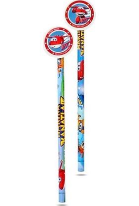 Dolphın Kurşun Kalem Super Wıngs Silgili Sw-5975