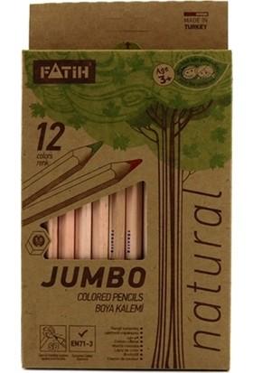 Fatih 12 Renk Jumbo Naturel Kuru Boya 33500/F