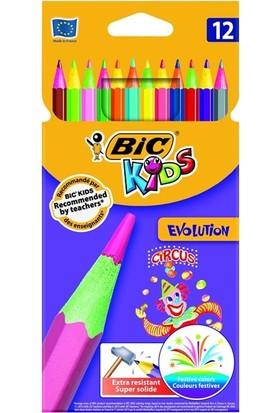 Bic Evolutıon Cırcus 12 Renk Kuru Boya 8957893