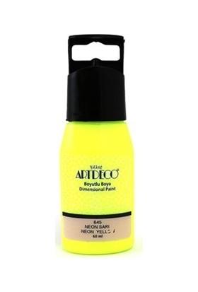 Artdeco Y-042C-645 Boyutlu Boya 60 Ml Neon Sarı