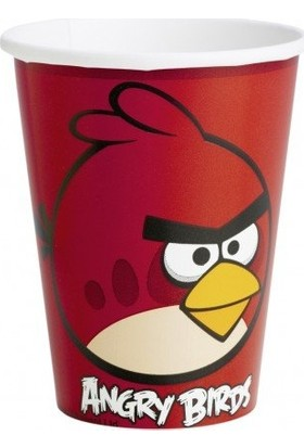 Parti Feneri Angry Birds 8'li Bardak 200 cc