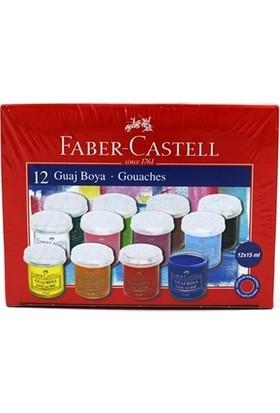 Faber-Castell 12 Renk Guaj Boya 5170160401