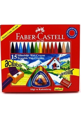 Faber-Castell 15 Li Silinebilir Wx Crayon Pastel 122715