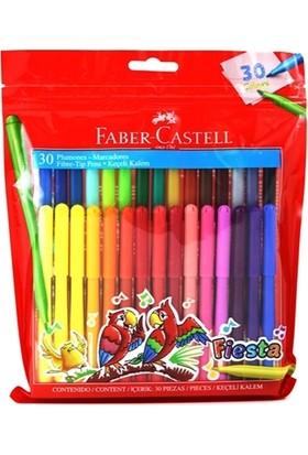 Faber-Castell 30 Renk Fıesta Keçeli Kalem 8350450