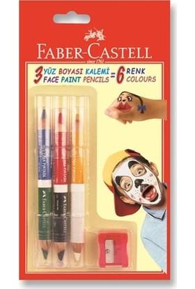 Faber-Castell Yüz Boyası 6 Renk Kartela 5170210306