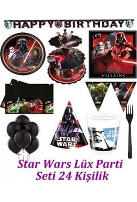 Parti Feneri Star Wars Lüx Parti Seti 24 Kişilik