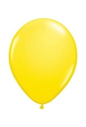 Parti Feneri Sarı Latex Balon 10 Adet