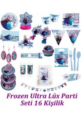 Parti Feneri Frozen Ultra Lüx Parti Seti 16 Kişilik