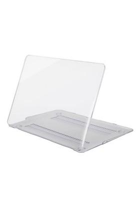 """Kızılkaya Apple Yeni Macbook Pro A1706 A1708 13"""" - 13.3"""" Kılıf Kapak Mat - Transparan Parlak"""