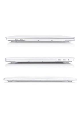 """Kızılkaya Apple Yeni MacBook Pro A1707 15"""" - 15.4"""" Kapak Kılıf Mat - Transparan Parlak"""