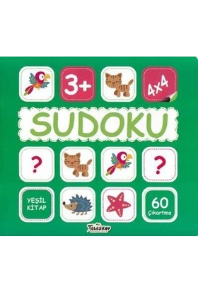 Sudoku 4X4-Yeşil Kitap