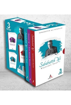 Sabahattin Ali 3 Lü Kitap Roman Seti - Sabahattin Ali