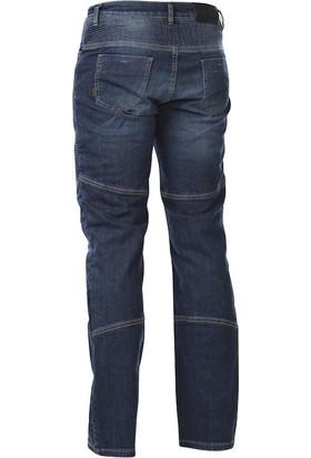 4Riders Arizona Korumalı Kot Pantolon (Eskitme Mavi)