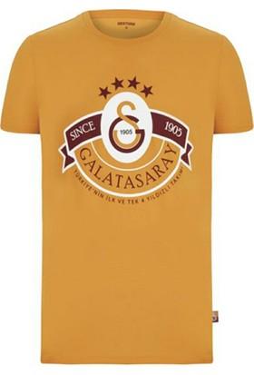 Galatasaray Dört Yıldız Tshirt ( Sarı )