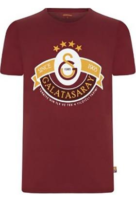 Galatasaray Dört Yıldız Tshirt ( Kırmızı )