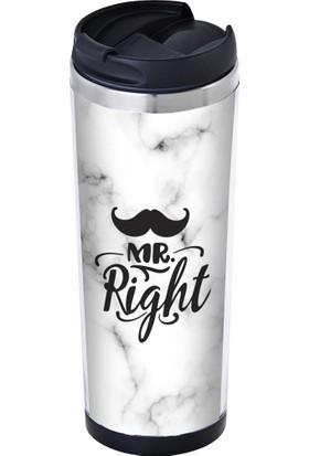Allmug İçi Çelik Termos Mr. Right Mug 350 ml