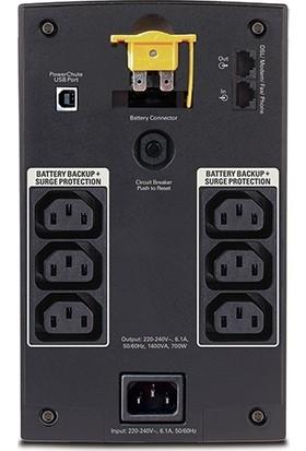 APC BX1400UI Back-UPS 1400VA, 230V, AVR, IEC Soket