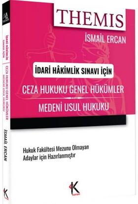Ceza Hukuku (Genel Hükümler) Medeni Usul Hukuku - İsmail Ercan