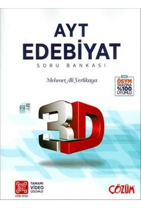 Çözüm Yayınları AYT 3D Edebiyat Soru Bankası