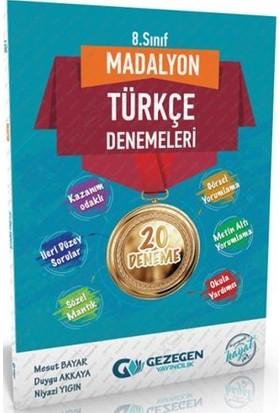 Gezegen Yayıncılık Madolyon Türkçe Denemeleri 8 Sınıf