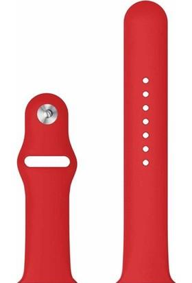Microcase Apple Watch Series 4 40 mm Silikon Kordon Kayış - M / L