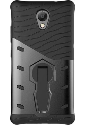 Microcase Lenovo P2 Spider Serisi Armor Standlı Kılıf