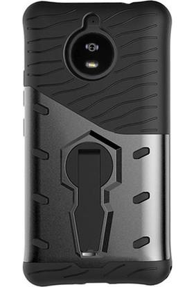 Microcase Motorola Moto G5S Spider Serisi Armor Standlı Kılıf