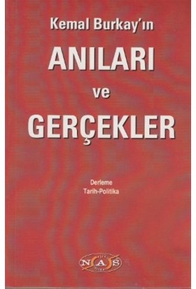 Kemal Burkay'ın Anıları ve Gerçekler - Kemal Burkay