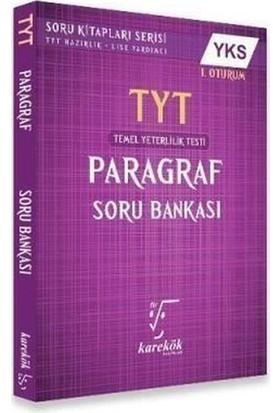 TYT Paragraf Soru Bankası 1 Oturum Karekök Yayınları