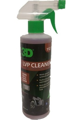 3D HD LVP Cleaner Deri Plastik Vinil Temizleyici 500ml