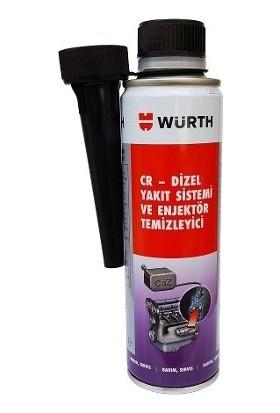 Würth Cr-Dizel Yakıt Sistemi Ve Enjektör Temizleyici