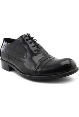 Hakanca Ayakkabı Erkek Klasik Rugan 167 Siyah