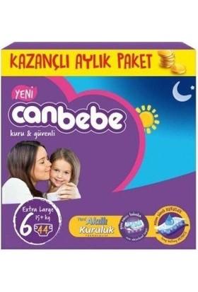 Canbebe Aylık Paket 6 Numara Junior 44 Adet