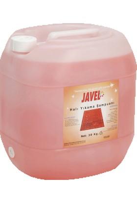 Javel Halı Yıkama Şampuanı Pembe Bidon 30 kg.