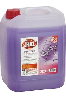 Javel Sıvı Fresh Genel Temizlik Deterjanı 5 lt Lavanta Bidon