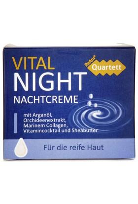 Ream Quartett Vital Night Gece Cream Krem 50 Ml