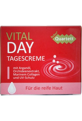 Ream Quartett Vital Day Gündüz Cream Krem Argan Oil With Collagen 50 Ml